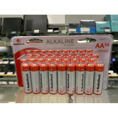 RadioShack - Alkaline Battery AA 36-Pack