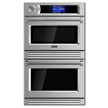 "30"" Professional TurboChef Series Double Electric Wall Oven"
