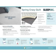 Full Crazy Quilt Innerspring Mattress