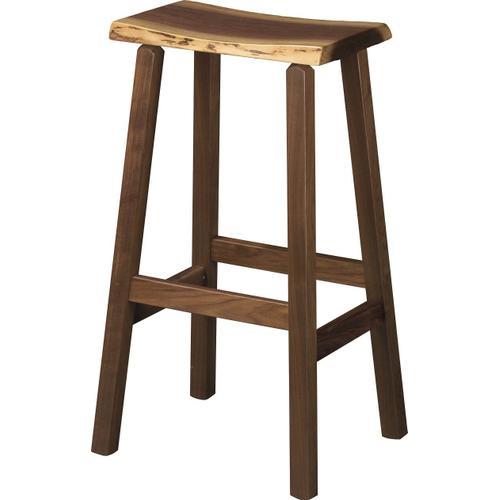 Amish Furniture - Rustic Bar Stool