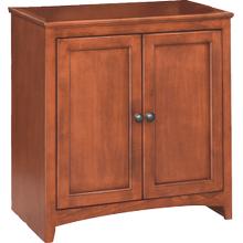 "30"" Wide Cabinet - Glazed Antique Cherry Finish"