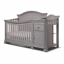 Finley 4-in-1 Crib & Changer in Weathered Grey