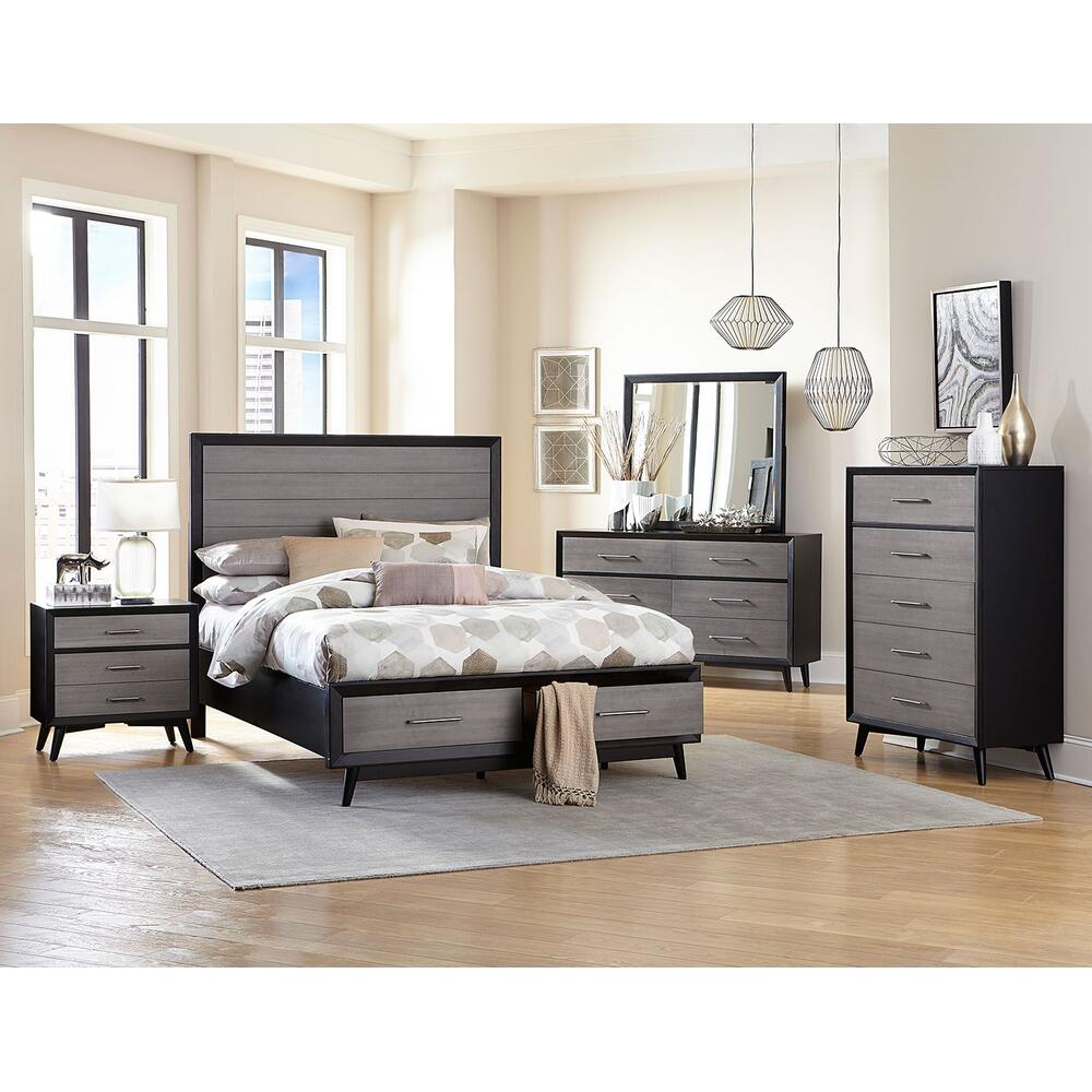 See Details - Raku 4Pc Queen Bed Set