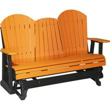 Adirondack Glider 5' Tangerine and Black