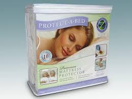 Protect-A-Bed Cotton Terry Cloth Premium Waterproof Mattress Pad Protector