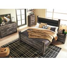 """WYNNLOW 6 PC BEDROOM INCLUDES A 50"""" SAMSUNG TV"""
