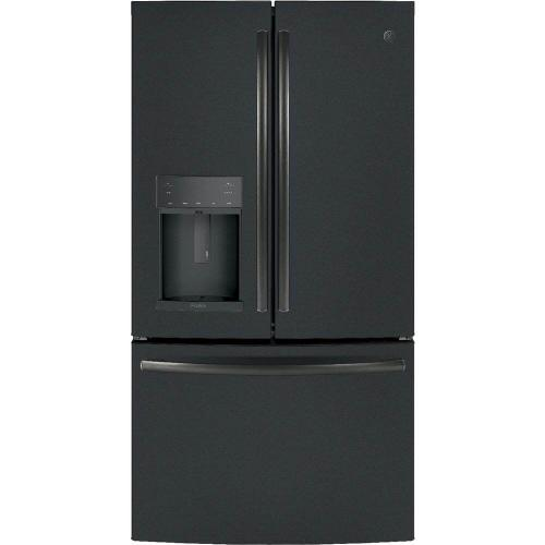 GE Profile 22.1CF Black Slate Counter Depth French Door