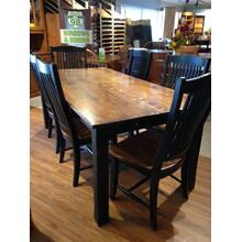 Champlain Table + 6 Chairs