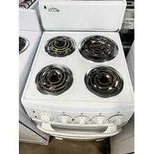 "USED- GE® 30"" Free-Standing Electric Range- E30WHCOIL-U SERIAL #9"