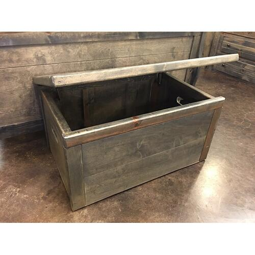 Toy Chest Rustic Grey