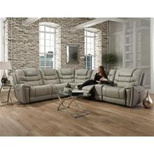 Breckenridge Light Grey Reclining Sectional