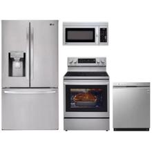 LG 4-Piece Stainless Steel Kitchen Suite