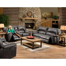 Stallion Grey 2PC Set: Reclining Sofa & Reclining Loveseat (AF740)