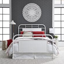 View Product - Queen Metal Bed - Antique White