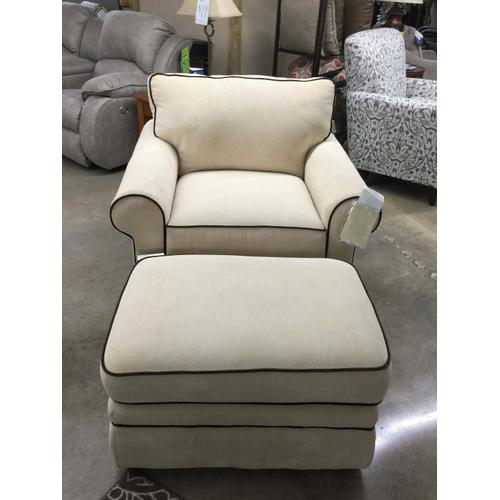 La-Z-Boy Sofa Chair and Ottoman Set
