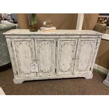 Vintage Distressed Media Credenza / Buffet
