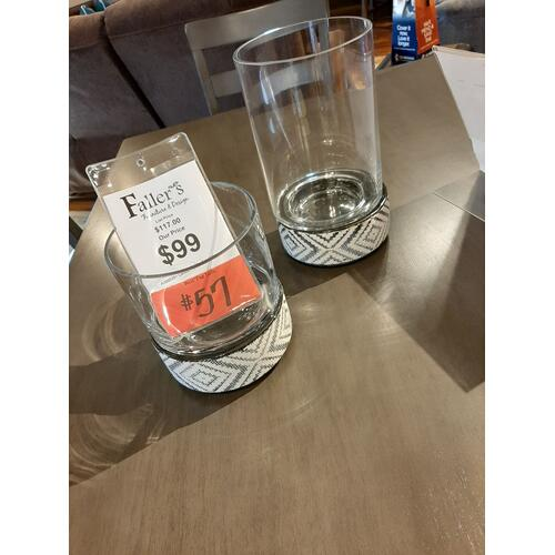 CLEARANCE Candle Holders 2pk