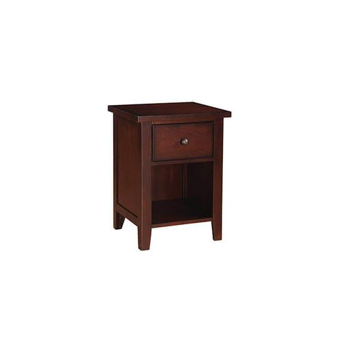 Product Image - Vintage Cherry 1-Drawer Nightstand