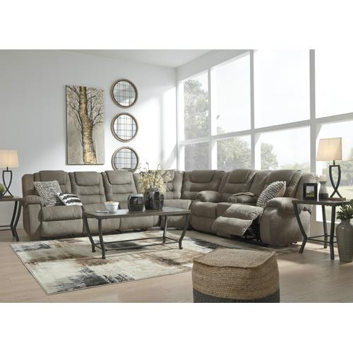 Ashley Furniture - McCade Reclining Sectional