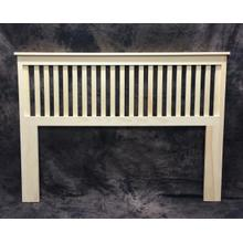 Maine Made Mission Headboard Twin 43W X 48H X 2D Pine Unfinished