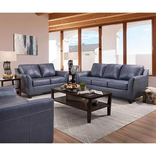 Leather Shale sofa