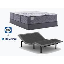 SEALY Evident Mattress & REVERIE Adjustable Power Base- QUEEN