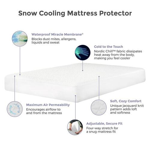 Protect-A-Bed - Snow Mattress Protector