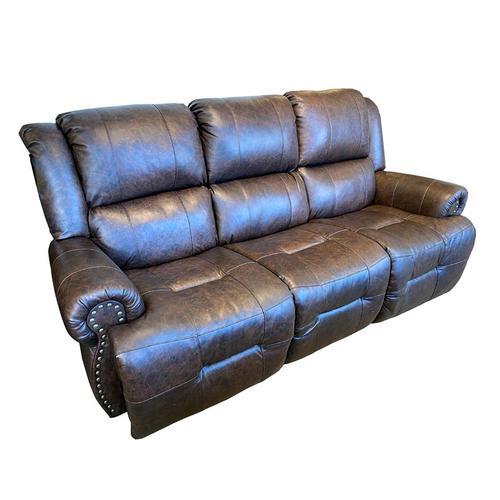 GENET Power Leather Recliner with Tilt Headrest #232556