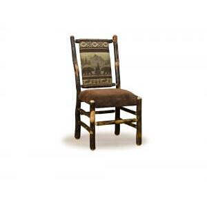 Hickory Low Back Side Chair