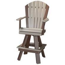"20"" Classic Swivel Bar Chair"