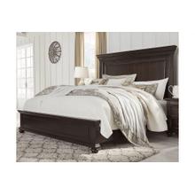Brynhurst - Dark Brown - California King Panel Bed
