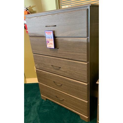 Gf Furniture - Grey Chest