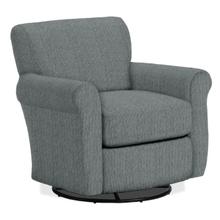 GEMILY Swivel Barrel Chair in Dove       (2837-19903B,29044)