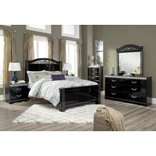 Constellations - Queen Poster Bed, Dresser, Mirror, & 1 x Nightstand