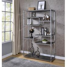 Chrome Etagere/Display Rack by Homelegance, HM18040