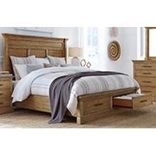 Aspen - Manchester Queen Bed - Headboard, Footboard, Rails