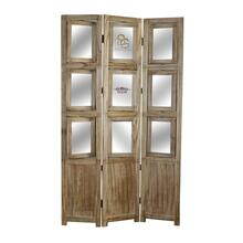 Photo Screen 3 Panel Room Divider