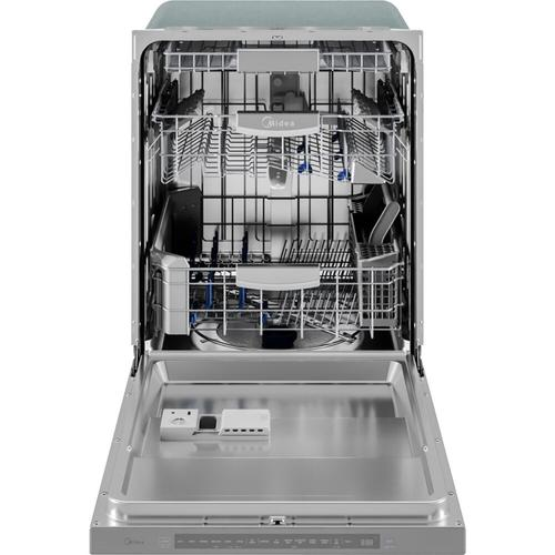 45 dBA Dishwasher with Wi-Fi and Angle Wash Focus Zones in Stainless Steel
