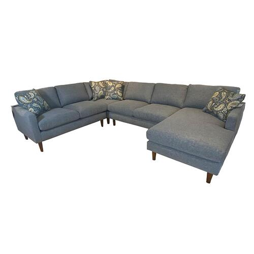 TRAFTON SECTIONAL Stationary Sectional #247357