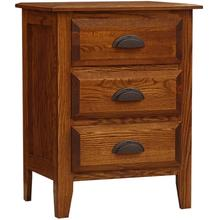 Summit Night Stand Short 3 Drawer