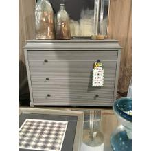 Multi-functional gray chest that can be used in living room, dining room, or entry way