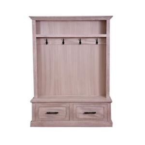"SD7818 48"" Hall Tree W/Bench & 2 Drawers"