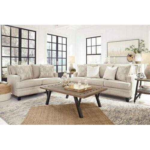- Claredon Sofa and Loveseat Set