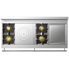 Chateau 150 (K4) - 2-Gas Burners - 1 French Plaque  - 2-Gas  Burners - 1 Teppanyaki