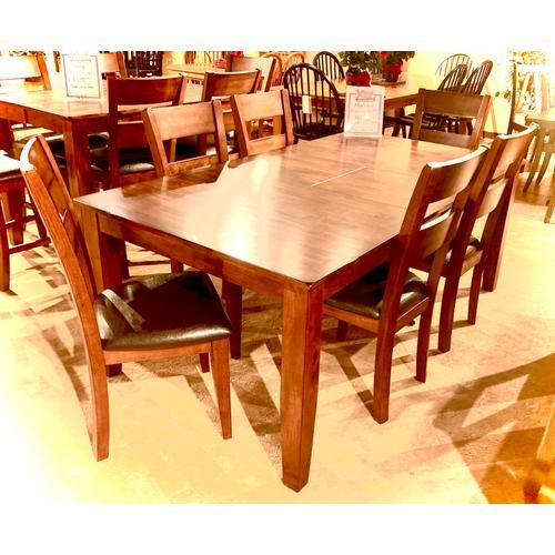 Warehouse M - Mango Brown Cherry 7pc Dining Room Set      (WARE-MANGOD)