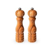 Peugeot Paris Olive Wood Pepper and Salt Mill Set, 9-Inches