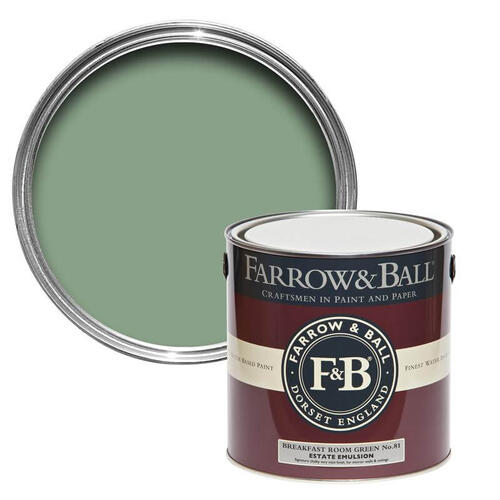 Farrow & Ball - Breakfast Room Green No.81