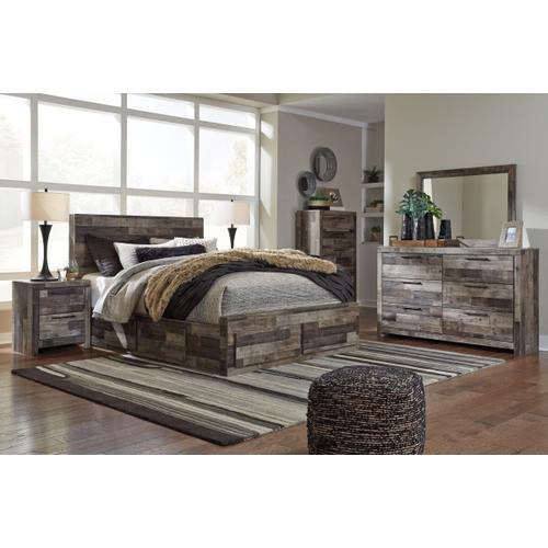 Roadhouse Ultimate Storage Bed, Dresser, Mirror