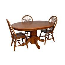 Standard Single Pedestal Table Set