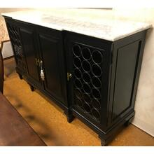 Venice buffet with marble top